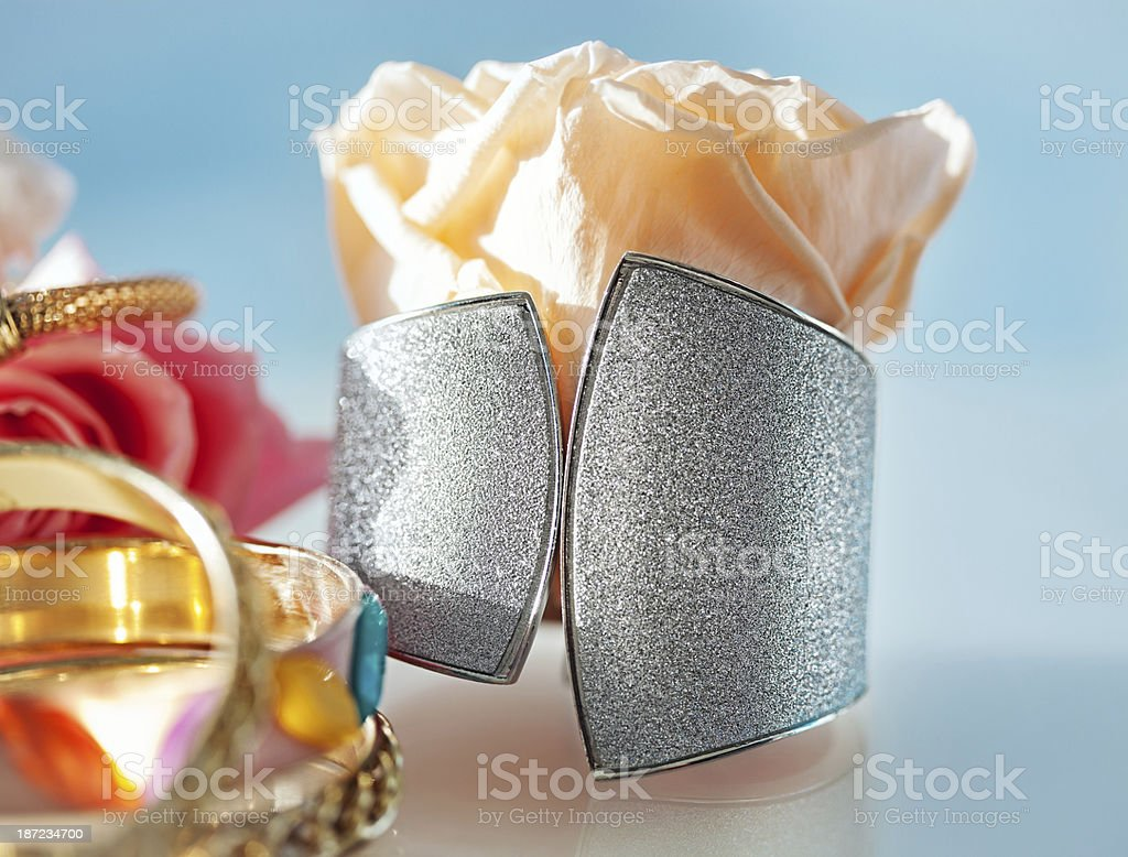 Jewelry Arrangement royalty-free stock photo
