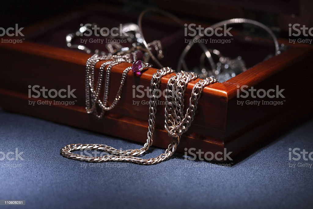 Jewelry Box royalty-free stock photo