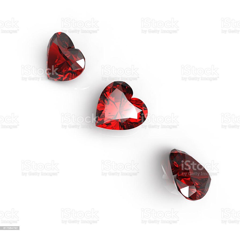 Jewelry Fashion background. 3D illustration stock photo