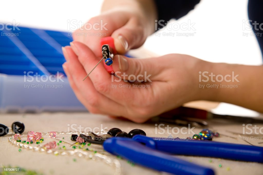 Jewelry Making Tools stock photo