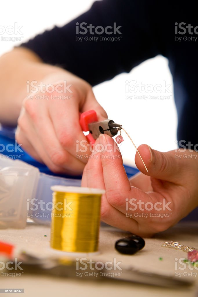 Jewelry Making Tools royalty-free stock photo