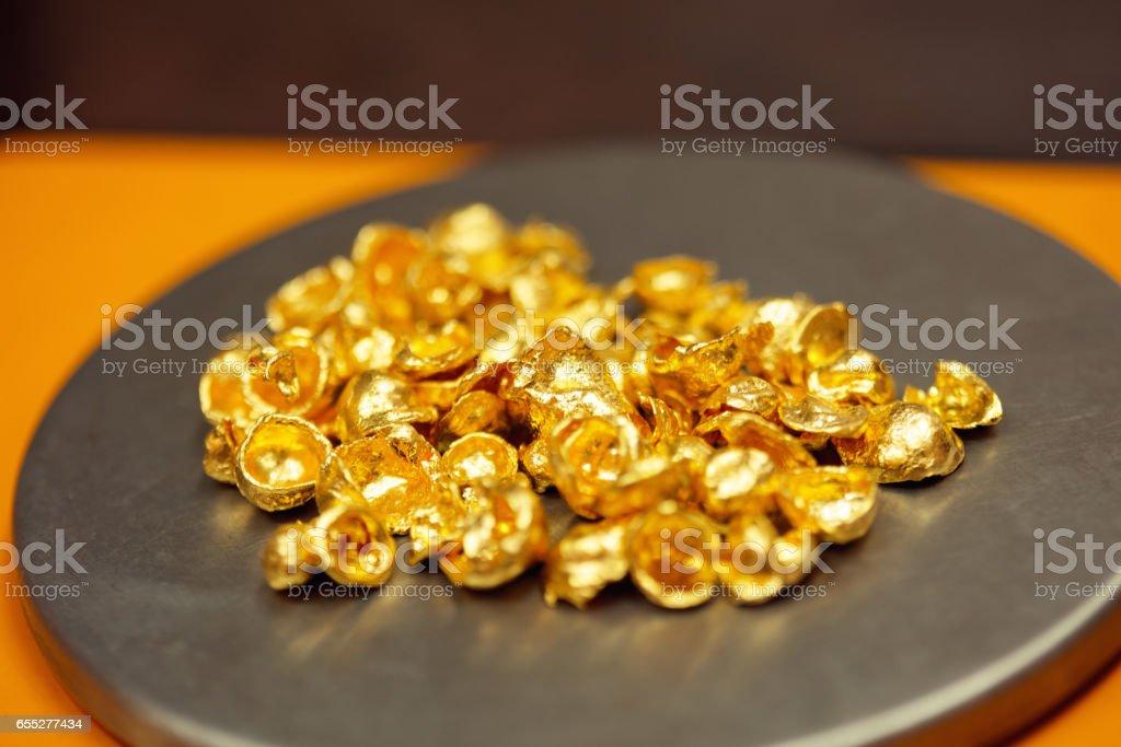 Jewelry manufacture stock photo