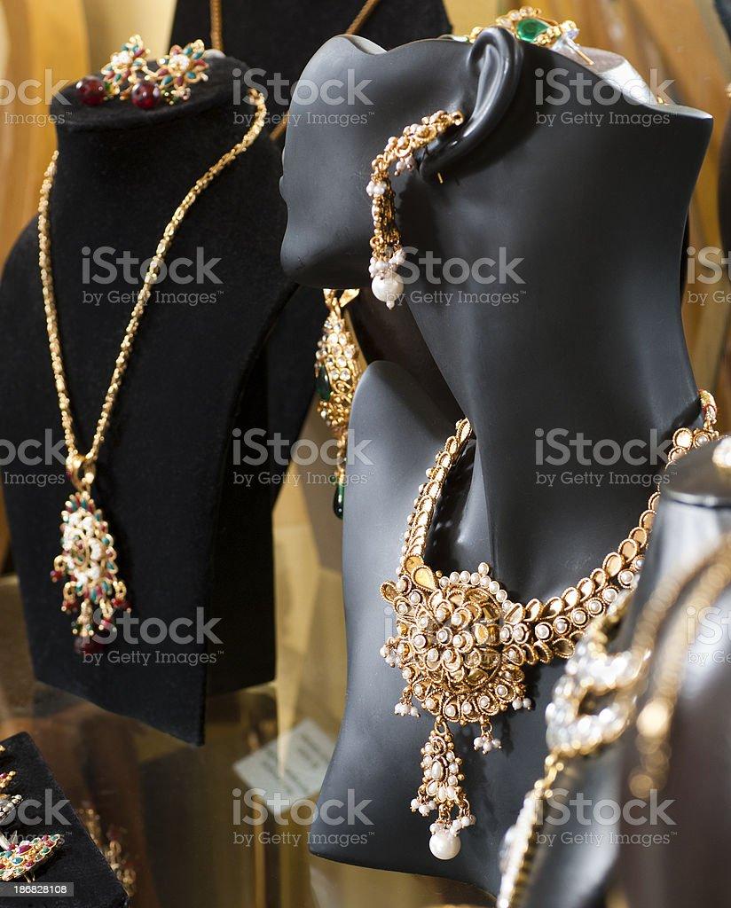 Jewelry on Display royalty-free stock photo