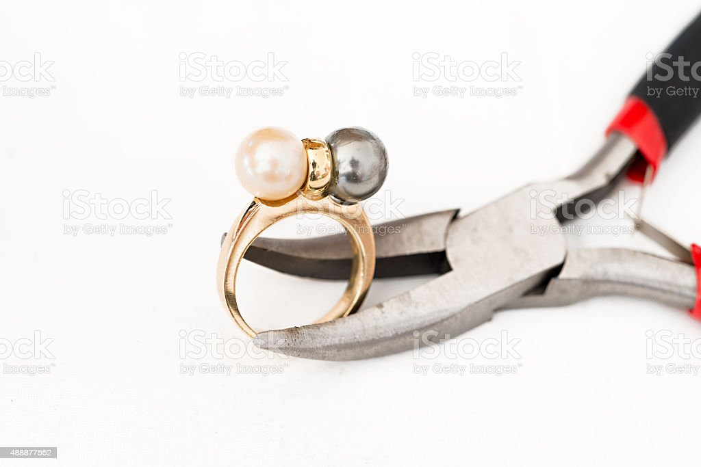 Jewelry Repair stock photo