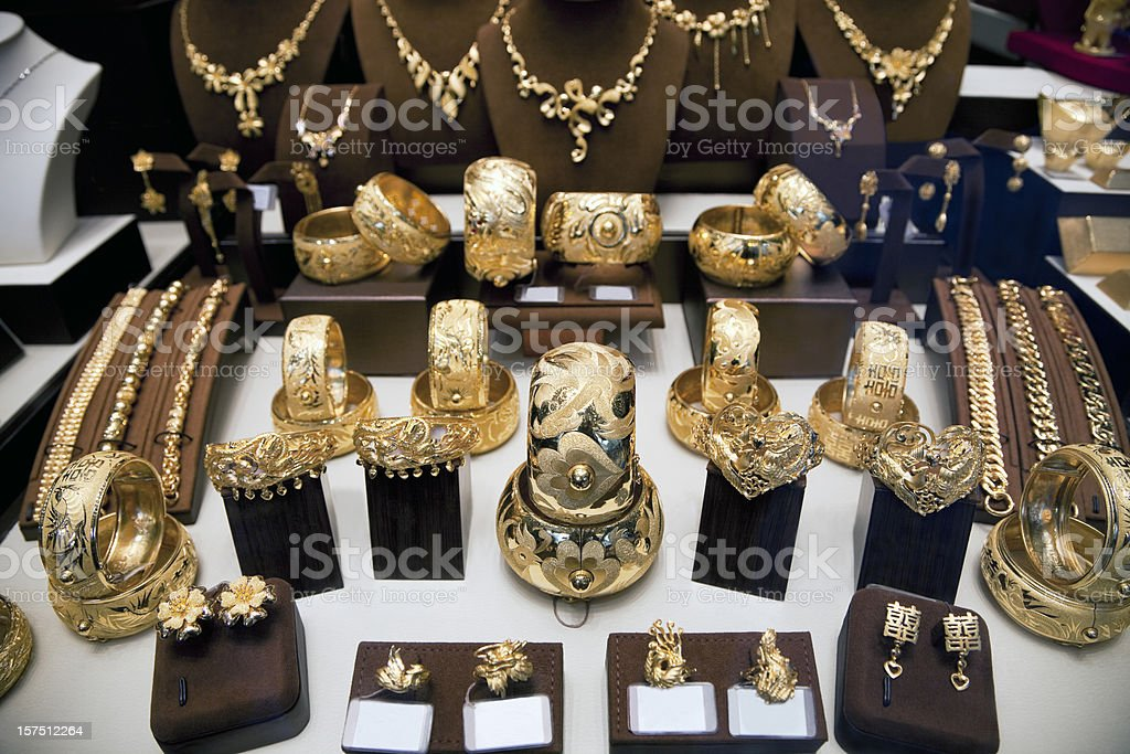 Jewelry Store royalty-free stock photo