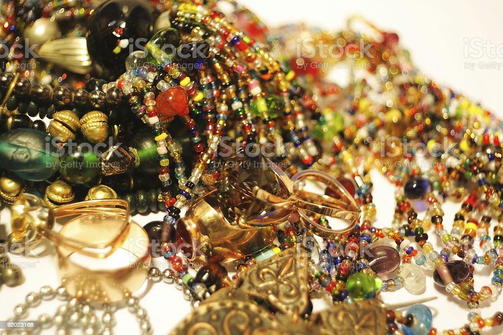 Jewelry treasure royalty-free stock photo