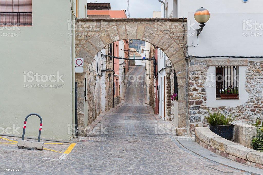 Jewish arch. stock photo