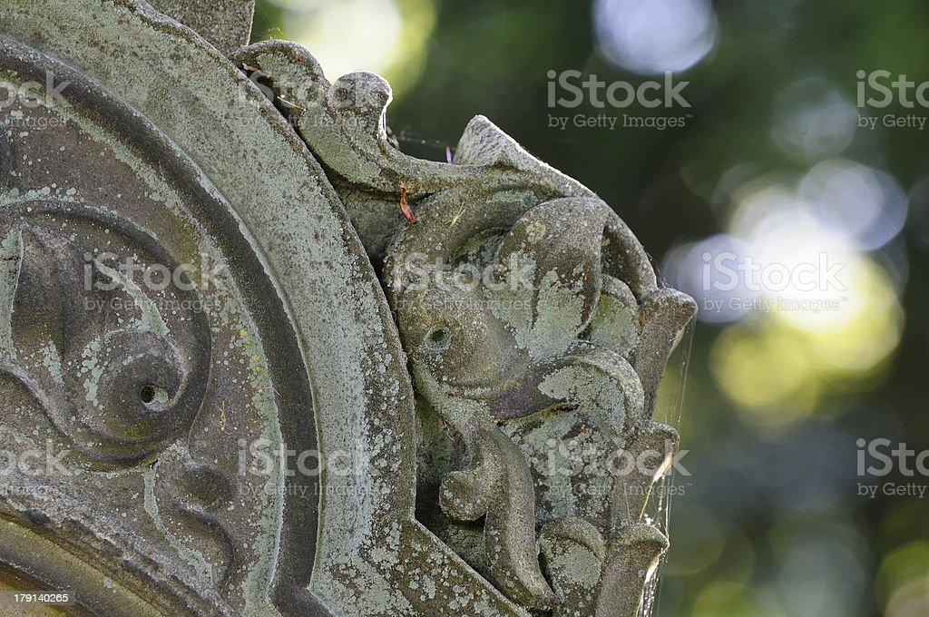 jewish cemetry stock photo