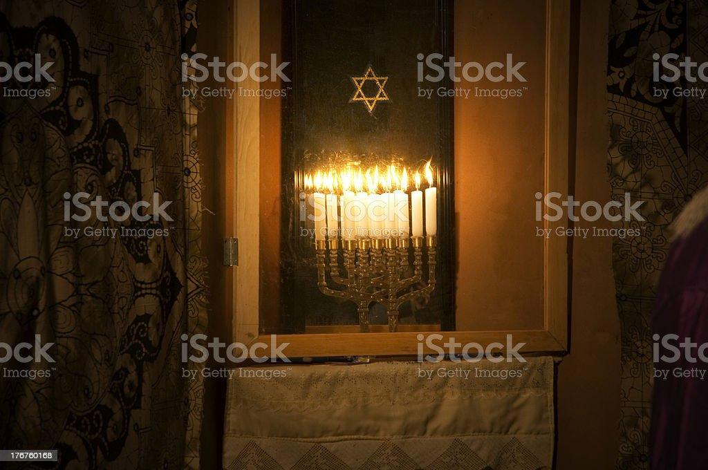 Jewish Holiday, Hanukkah royalty-free stock photo