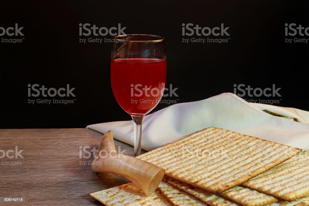 Jewish holiday Pesah celebration concept  Passover stock photo