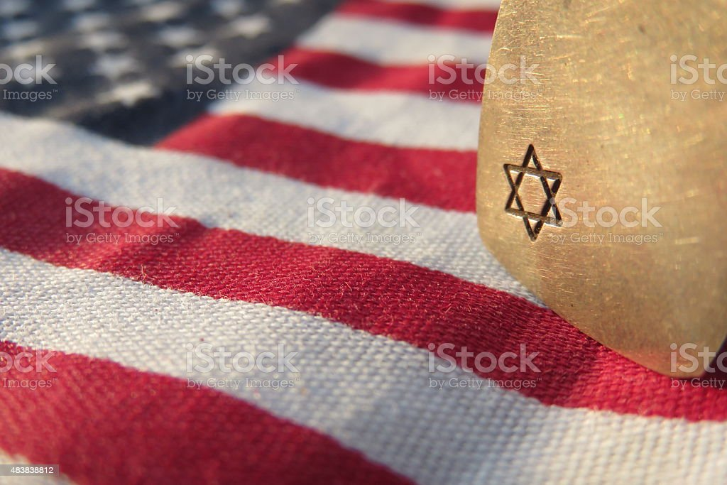 Jewish influence in the United States stock photo