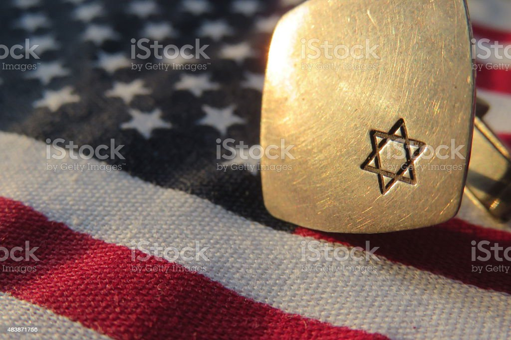 Jewish lobby in the United States Concept stock photo