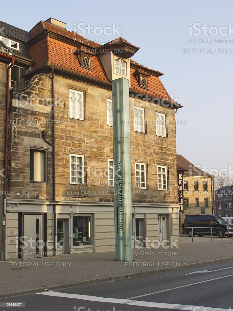 Jewish Museum Franconia stock photo