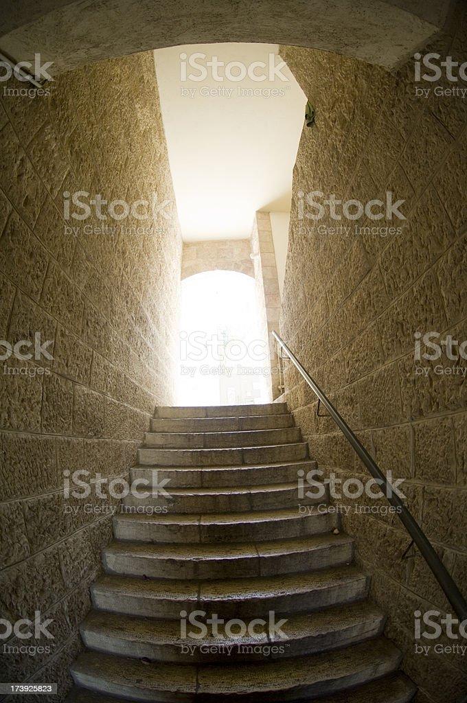 Jewish quarter in Jerusalem royalty-free stock photo