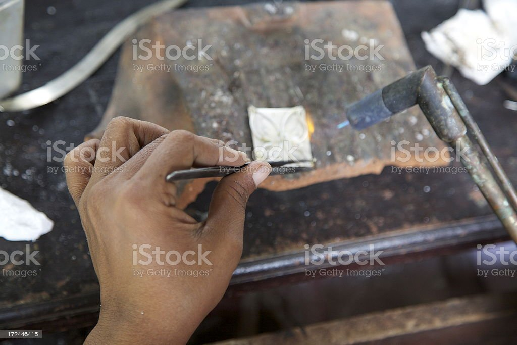 Jewlery maker royalty-free stock photo