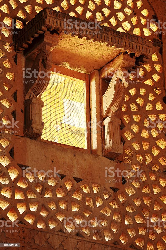 Jharoka at Makli Necropolis royalty-free stock photo