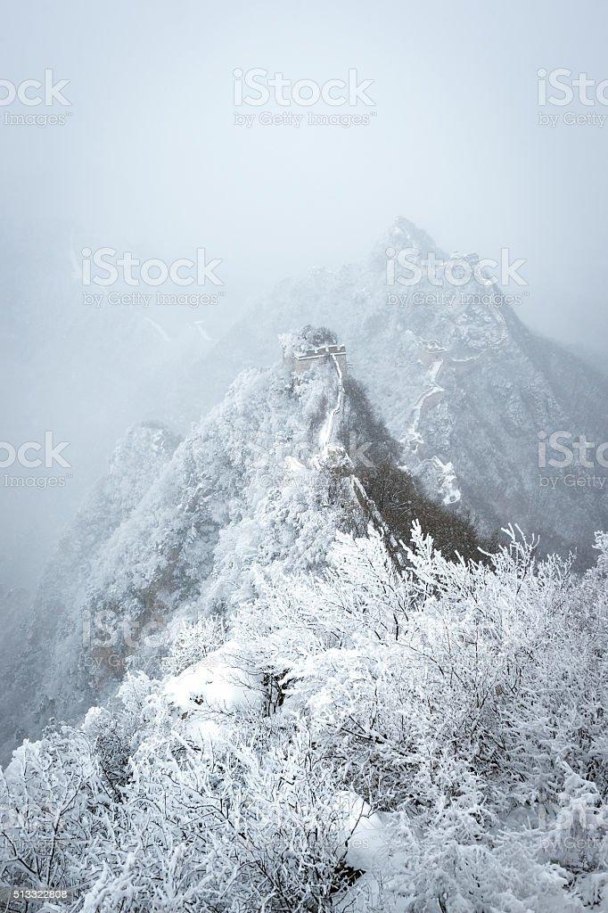 Jiankou Great Wall of china stock photo