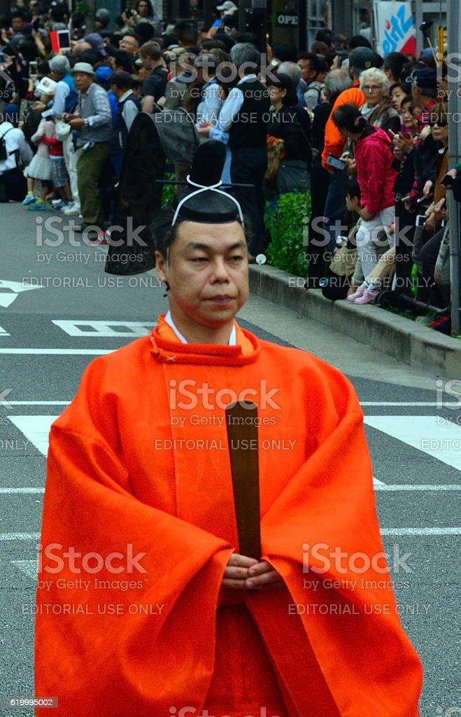 Jidai historical festival, Kyoto, Japan stock photo