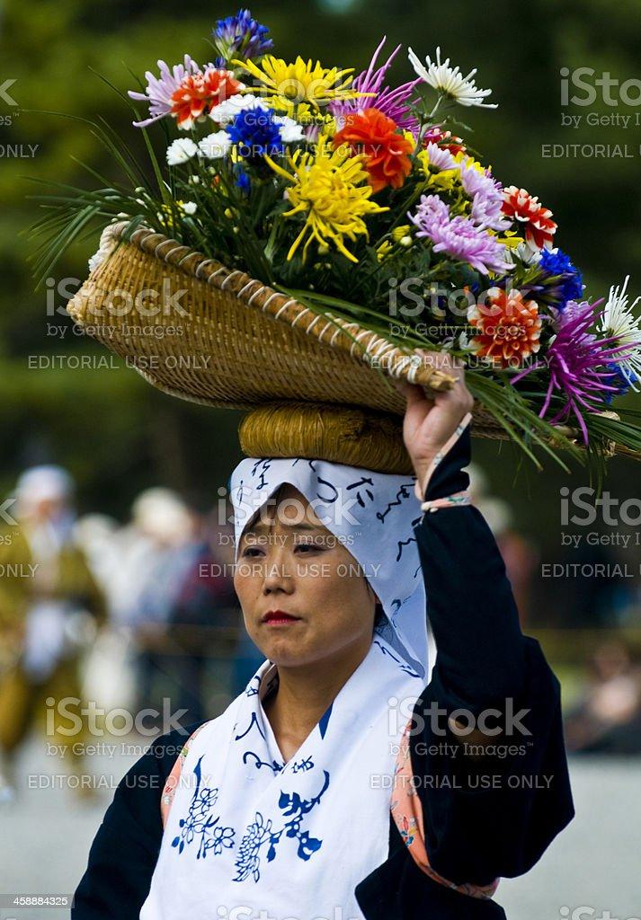 時代祭フェスティバル ロイヤリティフリーストックフォト