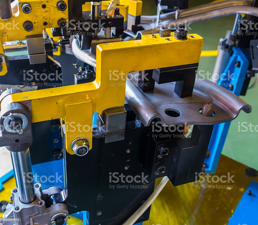 Jigs work welding stock photo