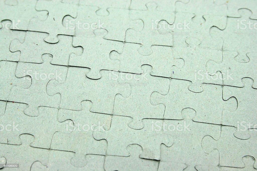 Jigsaw Full royalty-free stock photo