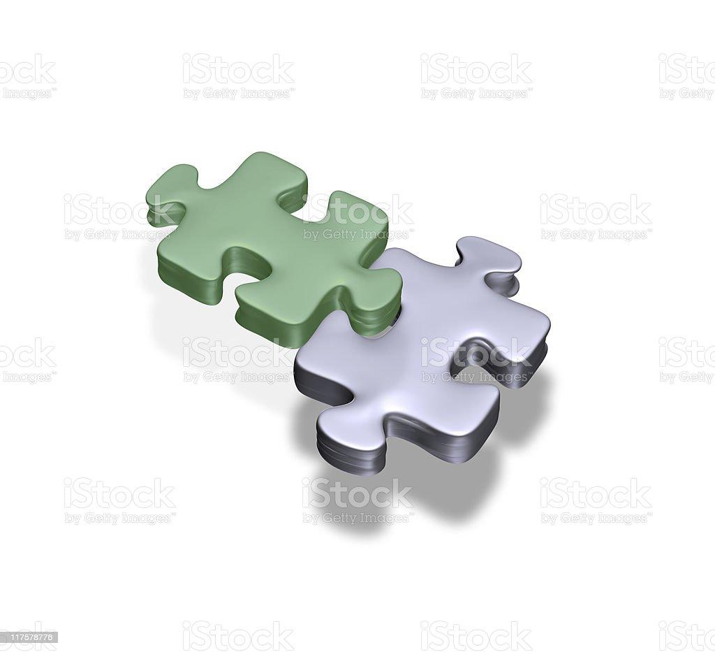Jigsaw royalty-free stock photo