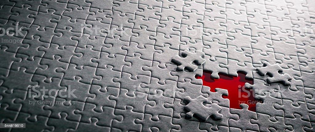 Jigsaw Puzzle Concept XXXXL - Backgrounds stock photo