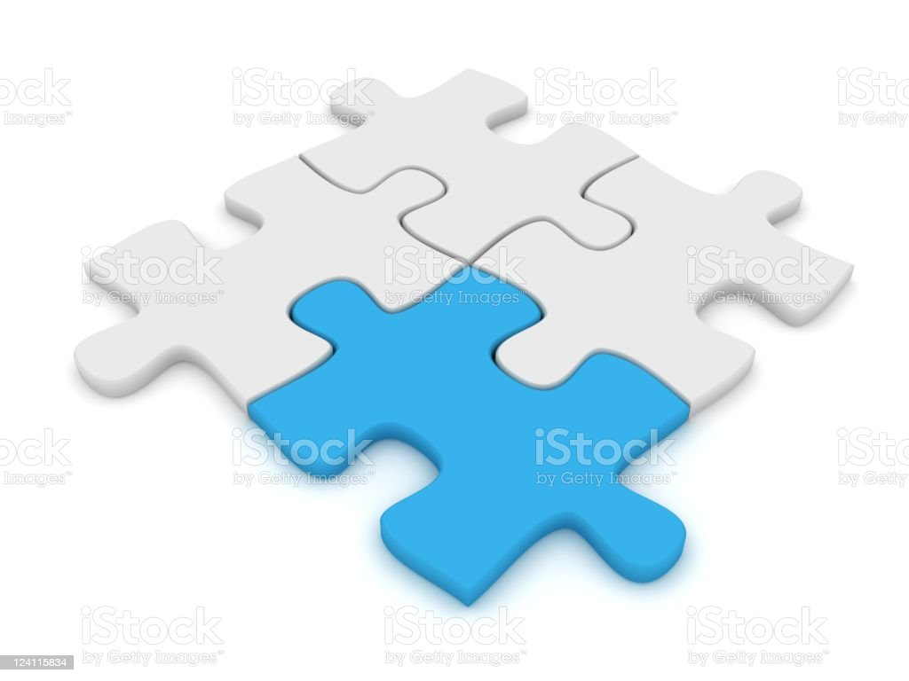 Jigsaw Puzzle royalty-free stock photo