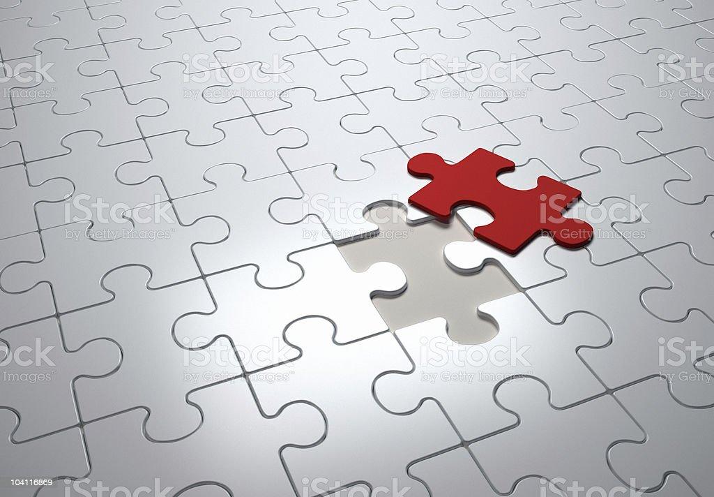 Jigsaw puzzles royalty-free stock photo