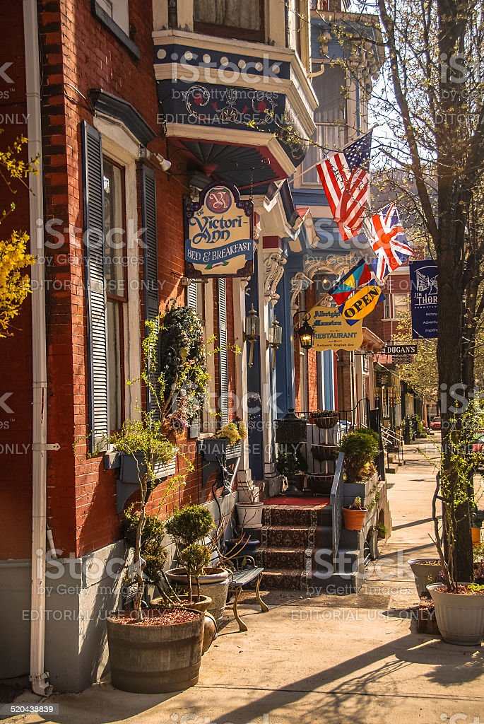 Jim Thorpe, PA stock photo