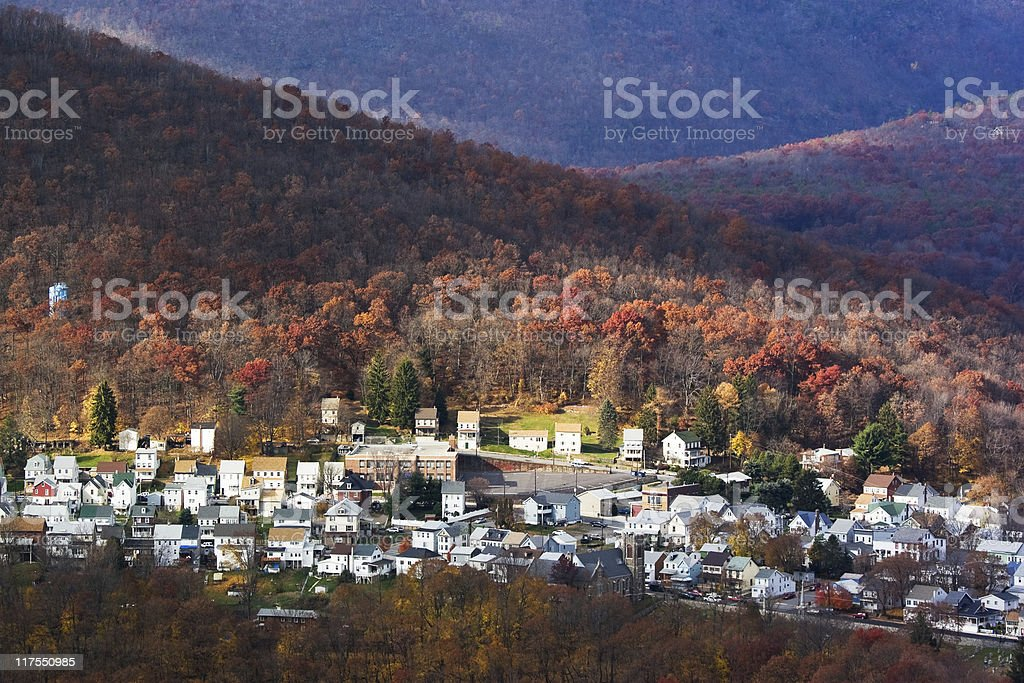 Jim Thorpe (Mauch Chunk), Pennsylvania stock photo