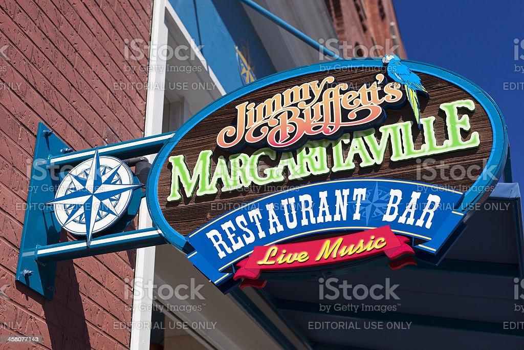 Jimmy Buffett's Margaritaville Restaurant In Nashville, Tennessee stock photo