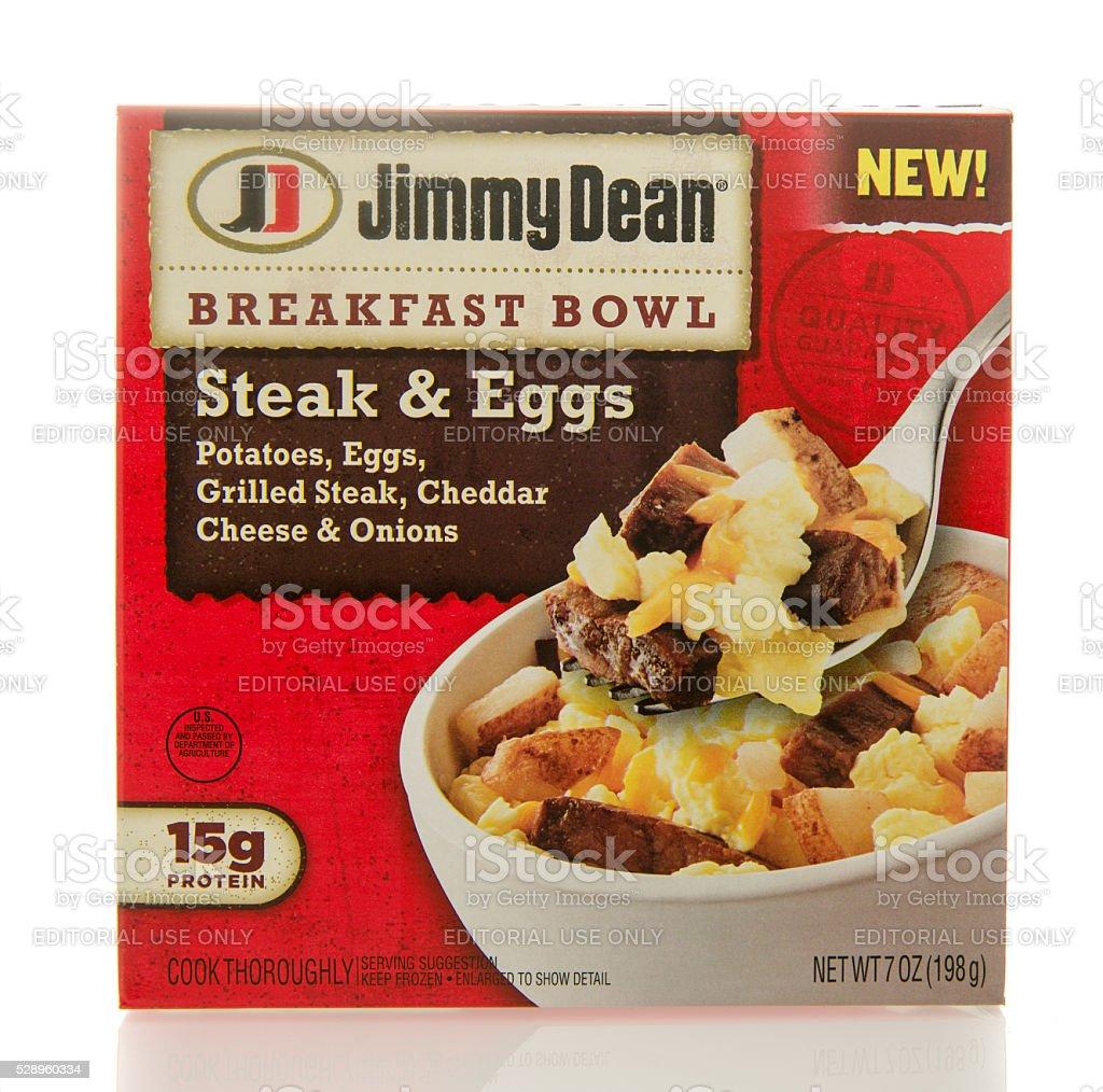 Jimmy Dean Breakfast Bowl stock photo