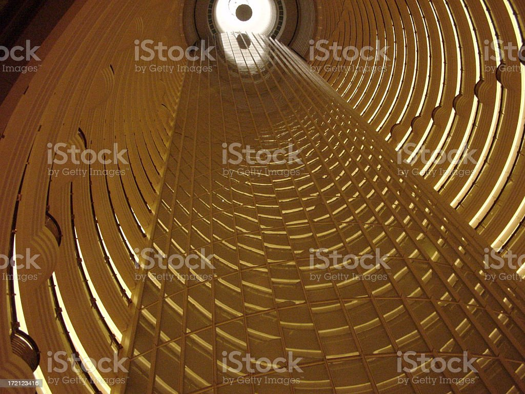 jin mao tower3 royalty-free stock photo