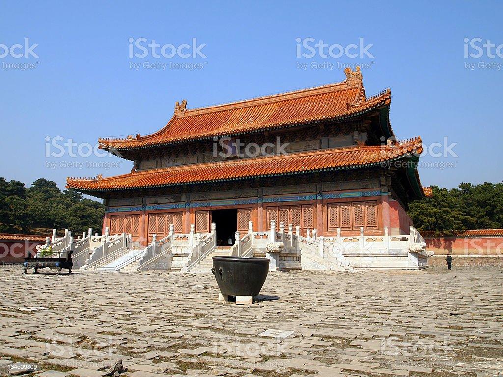Jingling, Eastern Qing Tombs, Hebei, China stock photo