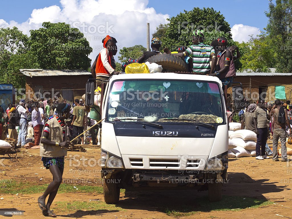 Jinka transport royalty-free stock photo