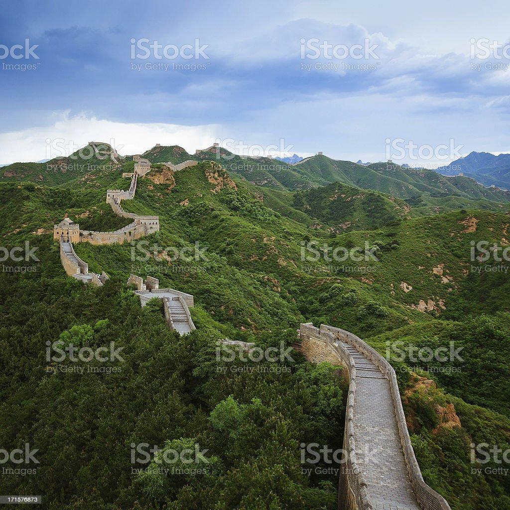 Jinshanling Great Wall of China royalty-free stock photo
