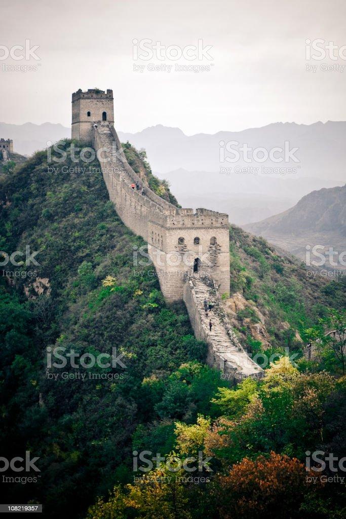 Jinshanling Great Wall royalty-free stock photo