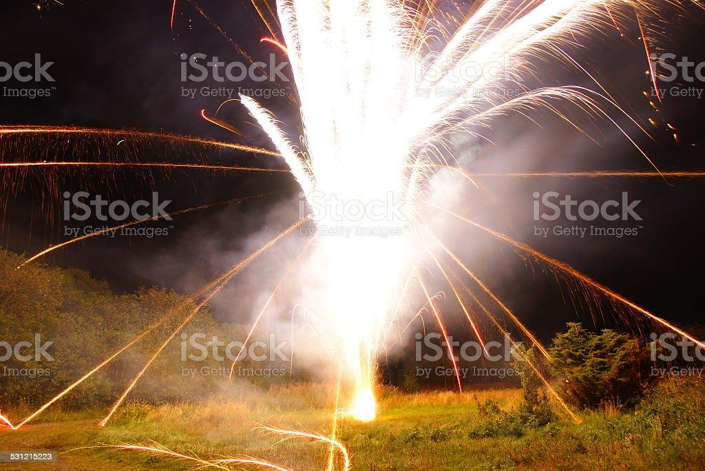 Jippe new year! stock photo