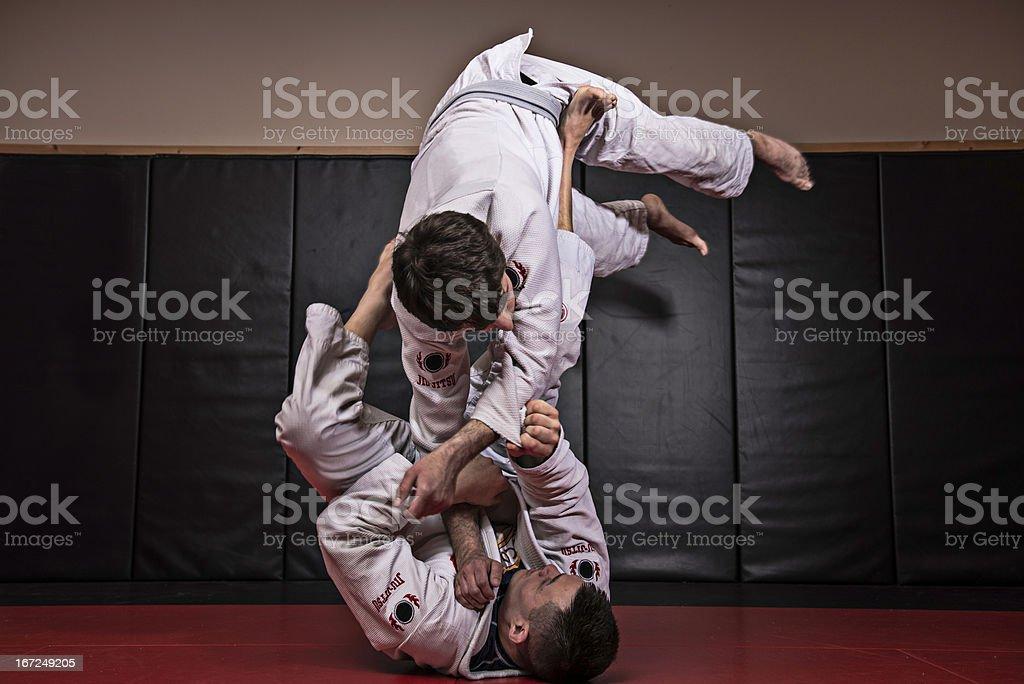 Jiu Jitsu royalty-free stock photo