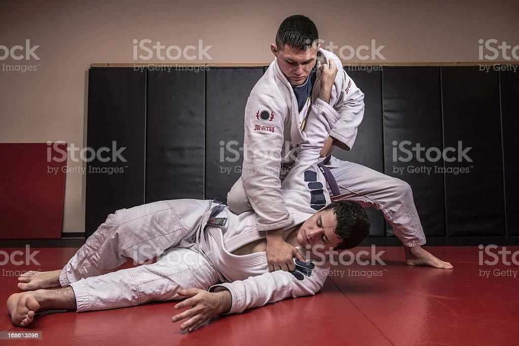 Jiu Jitsu stock photo