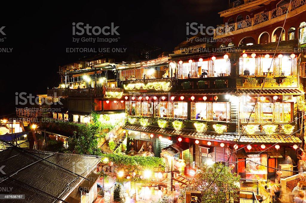 Jiufen also known as Jioufen or Chiufen Taipei, Taiwan stock photo