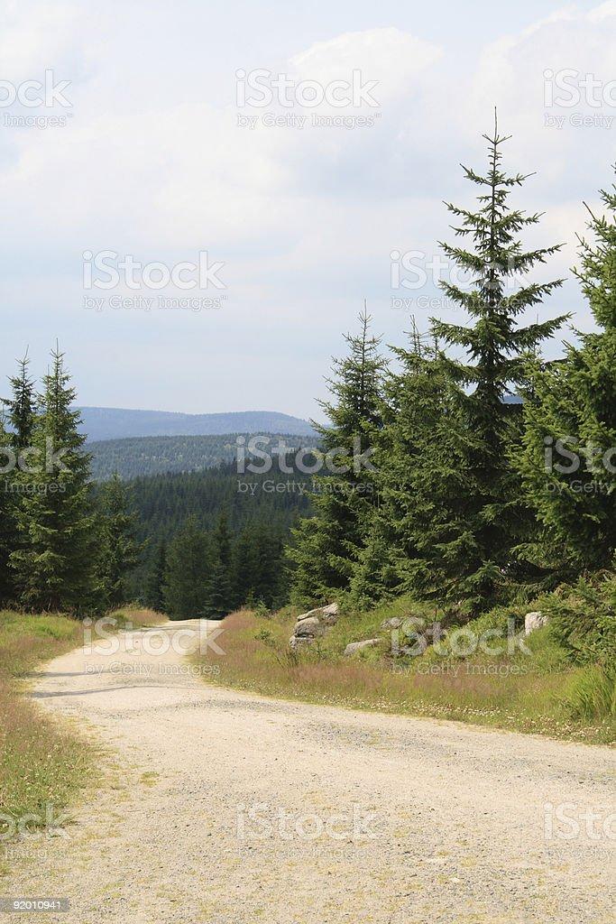 Jizera Mountains royalty-free stock photo