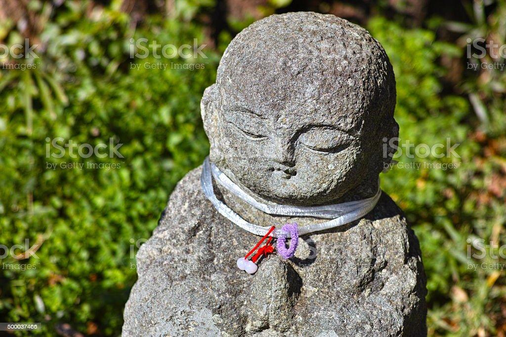 Jizo stock photo