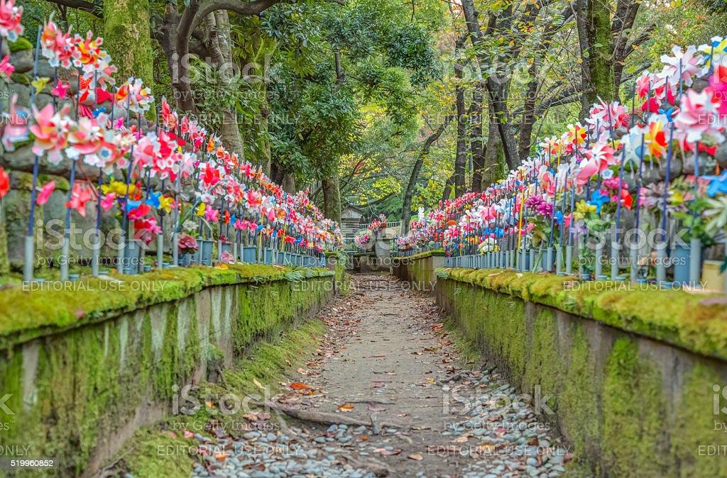 Jizo Statue, Tokyo, Japan stock photo