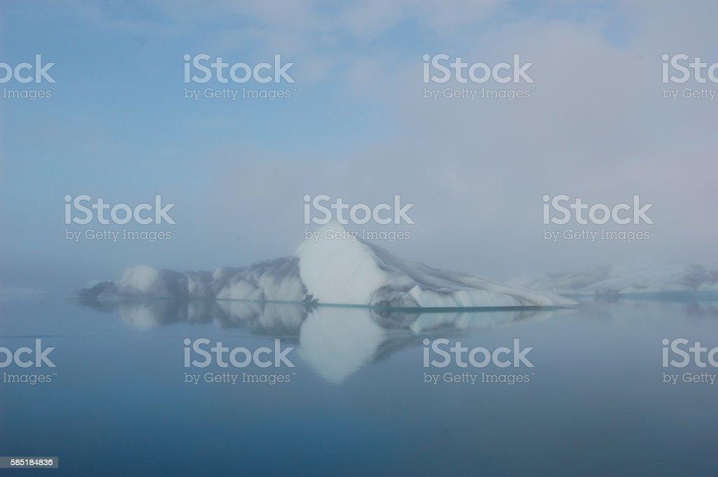 Jökulsárlón Glacier Lagoon in Iceland 01 stock photo