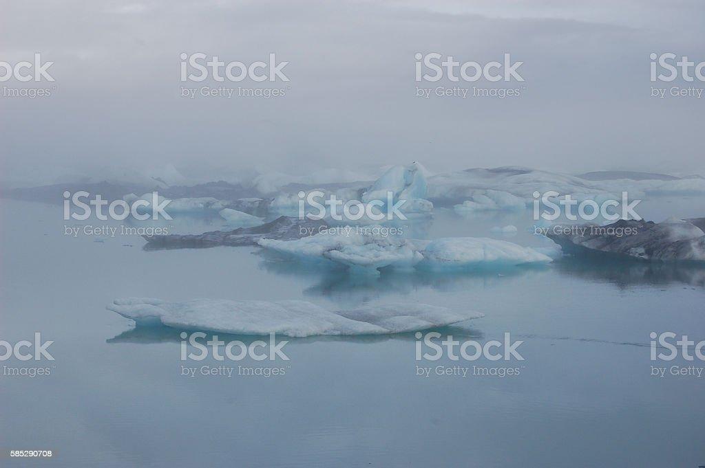 Jökulsárlón Glacier Lagoon in Iceland 04 stock photo