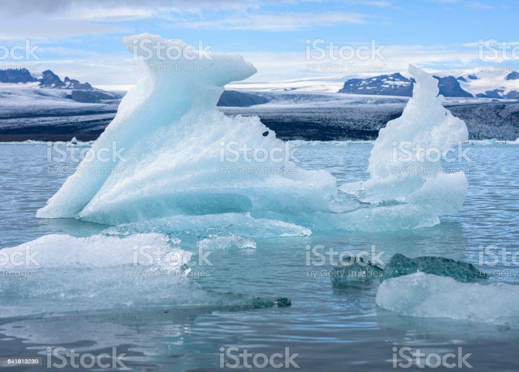 Jökulsárlón, Iceland stock photo