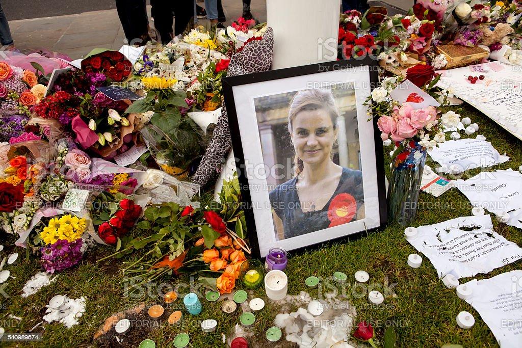 Jo Cox, MP stock photo
