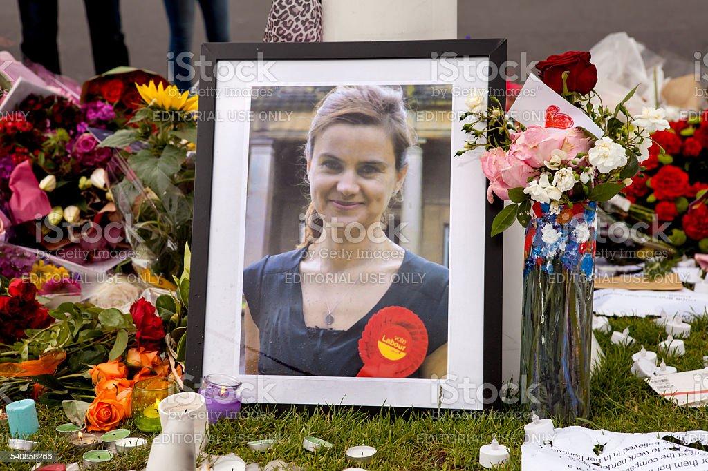 Jo Cox stock photo